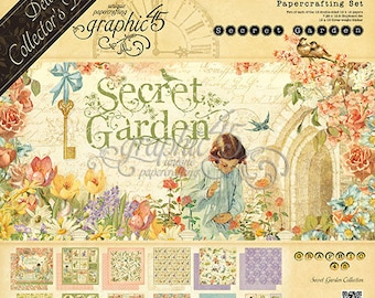 Graphic 45-Secret Garden Deluxe Collectors Edition
