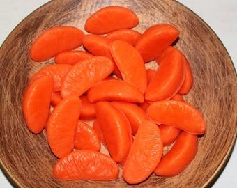 Primitive ORANGE CHIFFON CAKE Orange Slice Wax Tarts Melts-  Scented Bowl Fillers