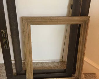 antique wood picture frames. Antique Frames,lot Of 3, Picture Frames, Wall Hangings, Wood Frames D
