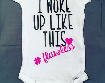 I woke up like this onesie