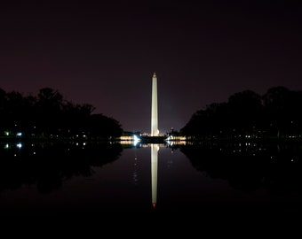 Washington Monument Photograph Canvas
