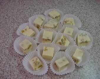 White Chocolate Walnut Fudge - 8 oz. Container Plus