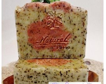 Peppermint Soap / Essential Oil Soap / Natural Soap / Antibacterial Soap / 5oz bar soap / Vegan Soap / face soap