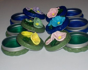 MORNING GLORY FLOWER Keepsake - One of the Anndora Collections of Garden Keepsakes and a Free Gift with purchase.