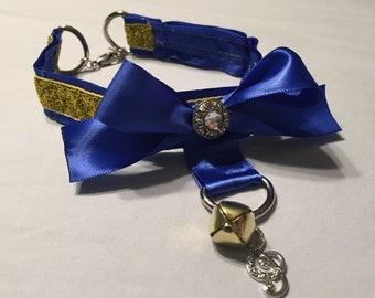 Blue & Gold Collar