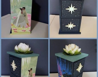 The Princess and the Frog-Princess and the Frog jewelry box