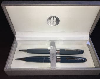 Vintage New Bill Blass Pen and Pencil Set