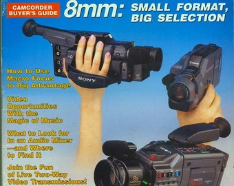 Vintage Original Videomaker Magazine - September 1989 Issue