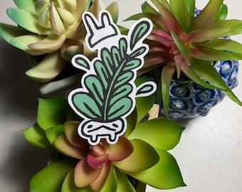 Bunpot Ficus Matte Sticker