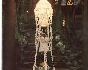Macramé Elegance II • 1970s Macrame Learning Knots How To Instruction Pattern Book • 70s Vintage Pot Hanger Owl Owls Knotwork • Retro PDF