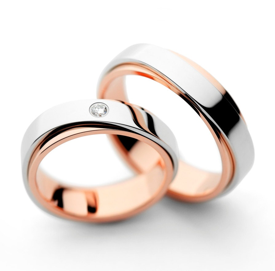 rings promise grace design wedding new couple evermarker couples diamond stripe v lovely for of cz titanium