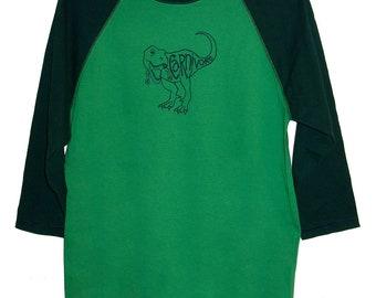 CLOSEOUT: Tyrannosaurus Rex Carnivore Adult 3/4 Sleeve Shirt