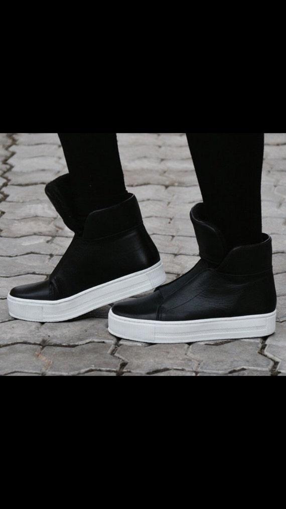 Sneakers Womens Shoes Womens Black Sneakers Shoes Platform Platform Shoes Black Boots Boots Leather Shoes Sneakers Black Leather 74fxqw