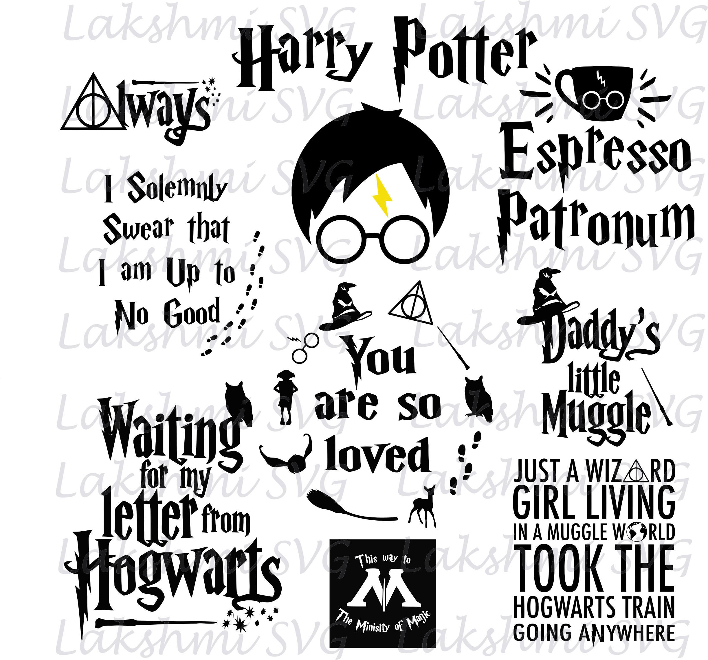 Download Harry Potter svg files Harry Potter svg quotes harry potter