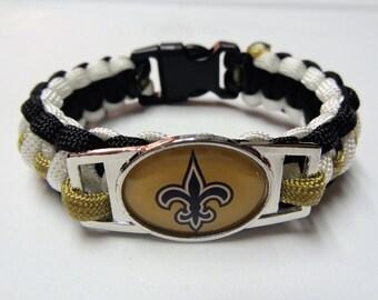 New Orleans Saints Paracord Bracelet