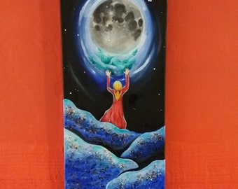 Moonlight - Original oil painting (only one available)