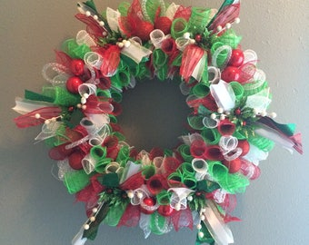 Christmas Wreath Christmas Decor Wall Decor Holiday Decor