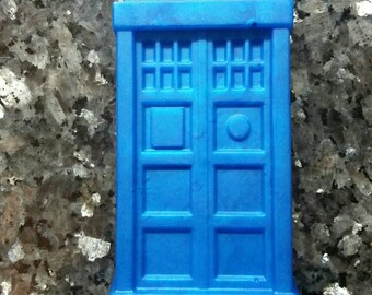 Tardis Soap / Doctor Who Soap / Stocking Stuffers / Gift for Him / Gift for Her / Geeky Soap
