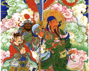 Chinese Art Print  Reproduction:  The Romance of the Three Kingdoms, c.1700. Fine Art Print