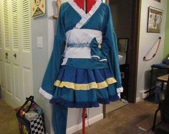 Vaporeon Kimono Cosplay