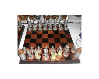 Contemporary African Chess Board