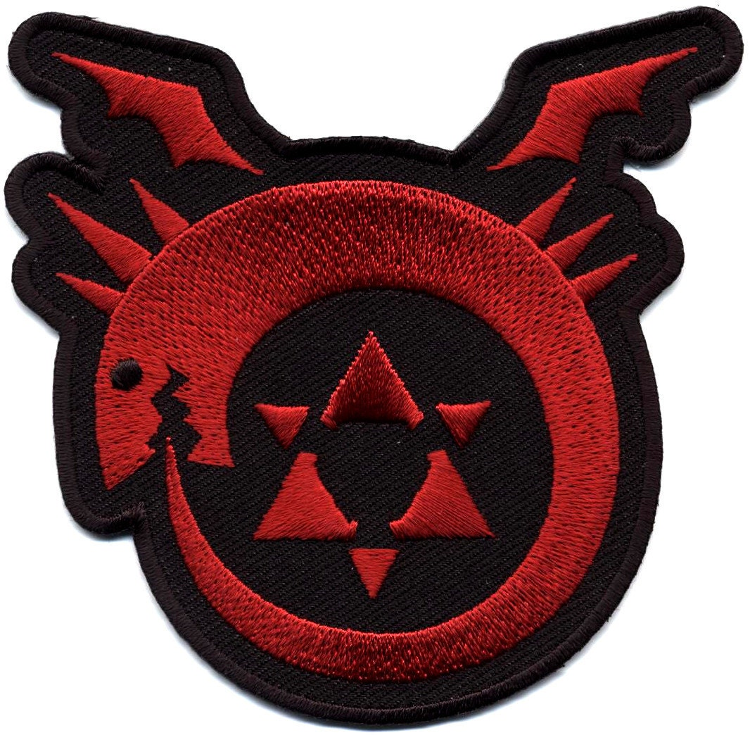 Fma full metal alchemist brotherhood uroboros homunculus patch description fma full metal alchemist brotherhood buycottarizona Choice Image