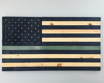 Armed Forces Support American flag