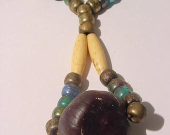 Vintage Buckeye Necklace  11 - 2029