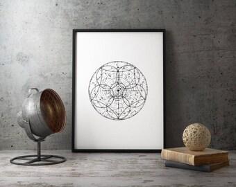 Zodiac Constellation Art Print, Zodiac Signs, Vintage Constellation Map, Printable Zodiac Chart, Constellation Art Print, Printable Poster