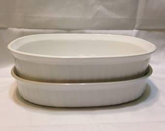 Corning Ware French White Baking Dish