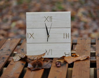 Shabby chic Wooden Watch