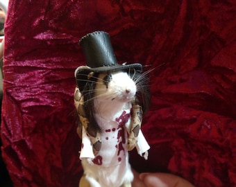 Taxidermy Mouse Alice Cooper