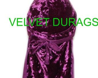 Purple Velvet Durags