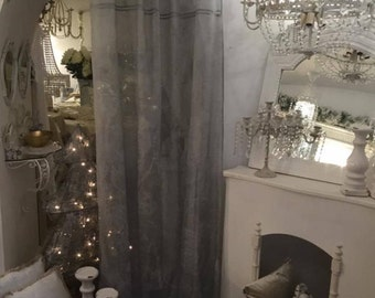 Pearl Grey for absolute linen curtain
