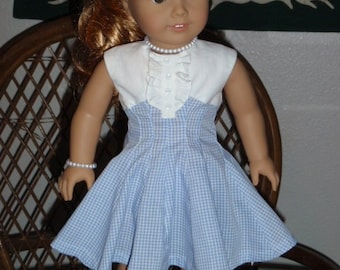 1950s Dress for American Girl Maryellen 18 inch doll