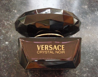 full ladies Versace Crystal Noir perfume 50ml Used eu de toilette