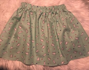 Girls Puppy Skirt