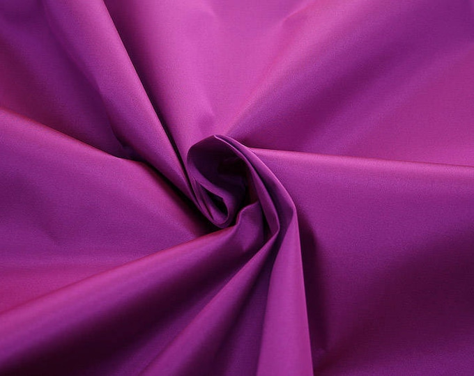 272125-natural Silk Mikado 100%, width 135/140 cm, made in Italy, dry cleaning, weight 190 gr