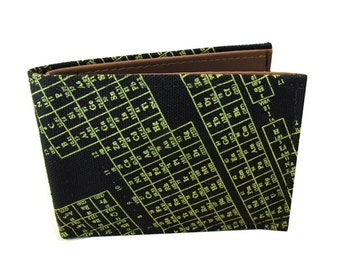 Periodic Table ) Bifold Wallet