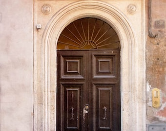 rome door photography, europe travel art, italy wall art, large living room print, rome photograph, italy photography, roman architecture
