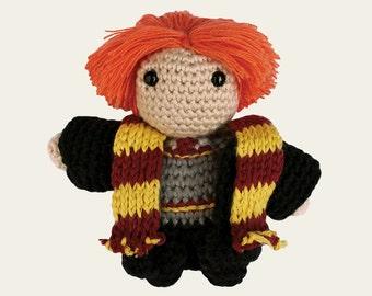Ron Weasley - Harry Potter. Amigurumi Pattern PDF, DIY, Crafts, Crochet Pattern, Fantasy, Wizard, Magic, Doll, Geek, Gift, Instant download