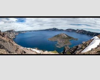 36x12 Crater Lake National Park Panorama - Unframed