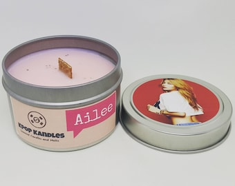 Ailee- 4OZ- Scented Candle- Kpop- Soy Candle- Kpop Merch- Kpop Gift- Korean- Hallyu- Friend Gift- Christmas Gift