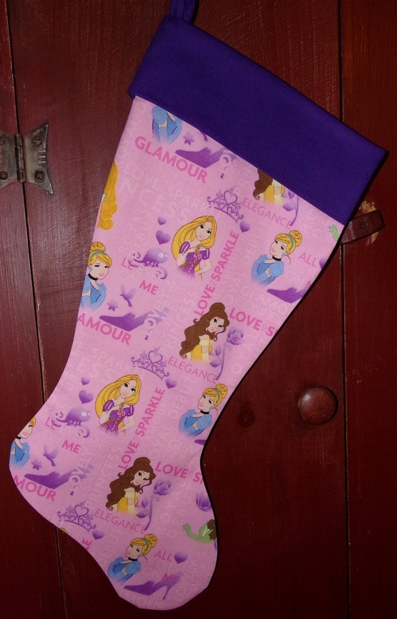 Princess Christmas Stocking