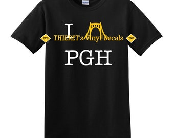 I Bridge (heart) PGH tshirt