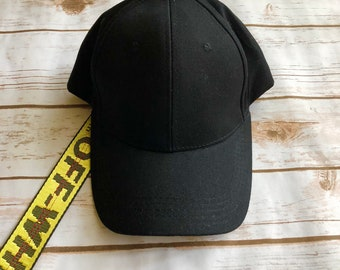 Off White Baseball Cap
