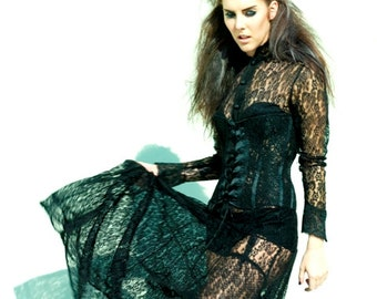 Rock and Roll.....lace dress