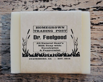 Dr. Feelgood All Natural Goat's Milk Soap