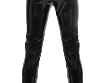 Men's Latex Jeans