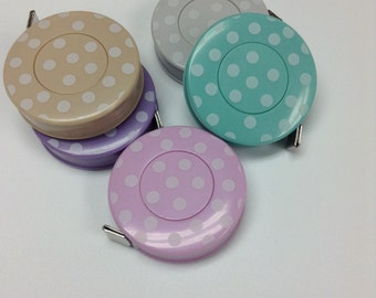 "60"" Polka Dot Measuring Tapes by Mediac"